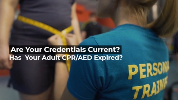Personal Trainer_Current Credentials